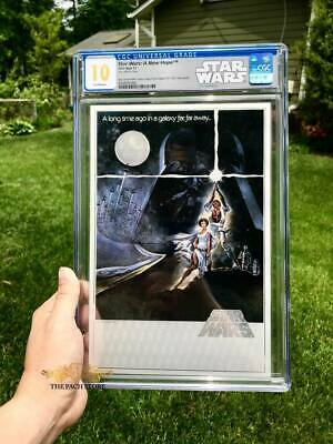 Star Wars: A New Hope #1 (2018) Premium Silver Foil Graded by CGC Comics Perfect