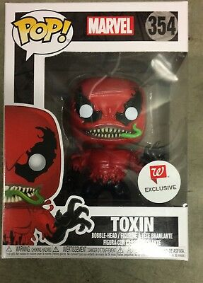 Funko pop MARVEL Toxin 354 Walgreens Exclusive very rare Brand New