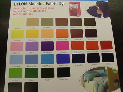1 NEW DYLON FABRIC DYE FOR USE IN WASHING MACHINE for clothes towel curtains etc
