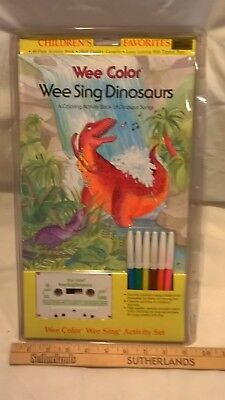 Wee Color, Wee Sing Coloring Activity Packages: Dinosaurs by Beall & Nipp