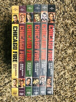 """CHICAGO FIRE The Complete Seasons 1-6 BRAND NEW FACTORY SEALED """"FAST SHIPPING"""""""