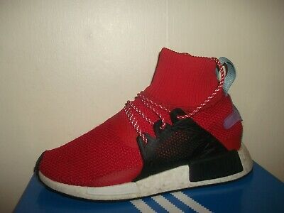 fd13763df 2017 Genuine Mens Adidas Originals Nmd Xr1 Winter Hi Top Trainers Size Uk 7  Red