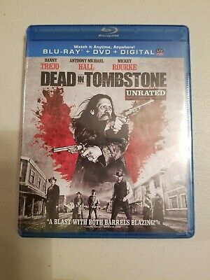 New - Dead in Tombstone (Blu-ray/DVD, 2013, 2-Disc Set, Unrated)