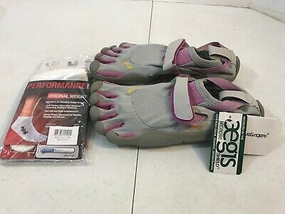 buy popular b666a 002a1 Vibram fivefingers KSO Size 38 Women s Running Shoes Gray W1459 New W socks
