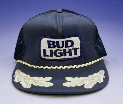 f640ff60 VINTAGE BUD LIGHT Snapback Hat Beer Dad Cap Camo Made In USA Hats ...