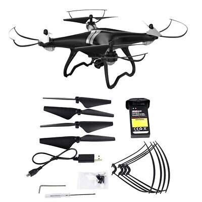 U88 2.4GHz RC FPV Drone Quadcopter with Headless Mode for Kids and Beginners