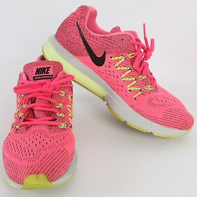 31d52dae6097 NIKE Zoom Vomero 10 Running Shoes WOMENS 9 Pink Black Lime 717441 603  140