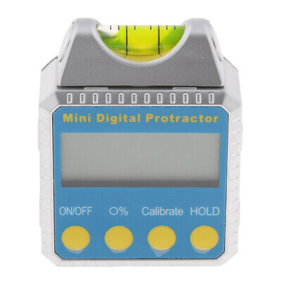 Digital Inclinometer Level Box Protractor Angle Finder Gauge Magnet Base
