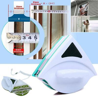 Useful Glass Surface Wiper Cleaning Brush Double Sides Magnetic-Window-Cleaner