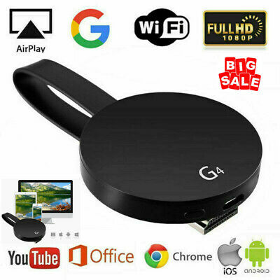 For Gogle Chromecast 4th Generation 1080P HD HDMI Media Video Digital Streamer