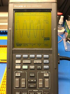 Fluke 97 50 MHz scopemeter TESTED