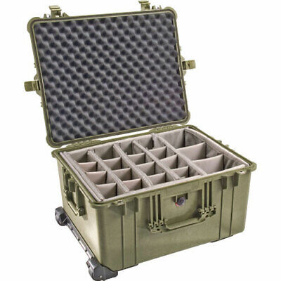 Pelican 1624 Waterproof 1620 Case with Dividers (Olive Drab Green)