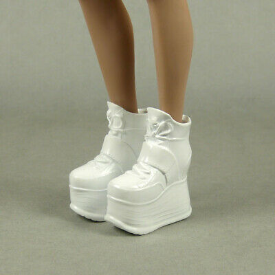 Kumik Hot Toys Zy 1//6 Phicen Female Glossy White Motorcycle Boots Play Toy