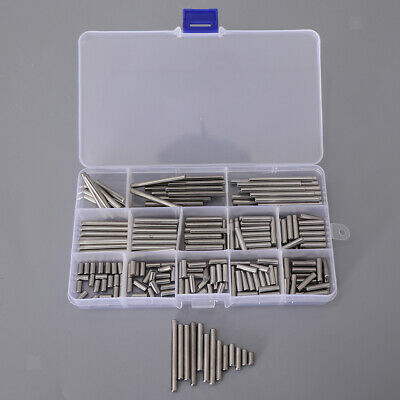 16 Kinds 304 M4 Stainless Steel Slotted Spring Pin Assortment kit