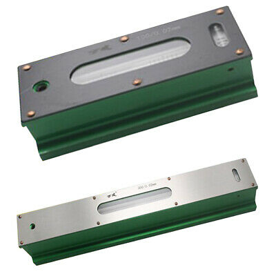 2Pc Professional Precision Bar Level for Engineer Machinist 0.02mm 100&300mm