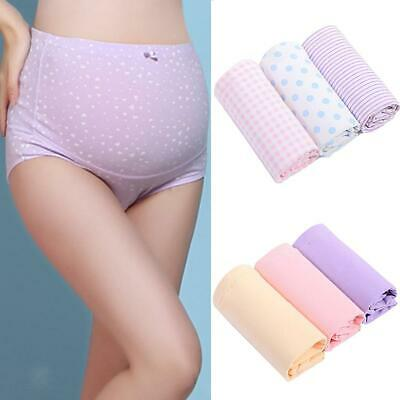 3 Pcs Womens Maternity Pregnancy Underwears Panties Adjustable Support