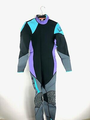 Vintage 90s Nike Aqua Gear Wetsuit Body Suit Color Block Sz Medium Mens M