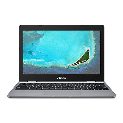ASUS Chromebook C223NA-GJ0014 11.6 Inch HD Notebook - Grey Intel Celeron N3350 4