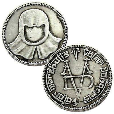 Faceless Man Game Of Thrones Iron Coin 27mm Valar Morghulis High Quality
