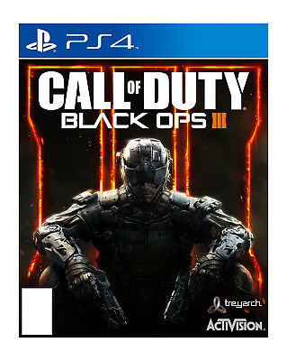 Playstation 4 Call of Duty Black Ops III 3 PS4 Used Free Shipping