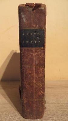 "1812 ""Cary's Roads Of England & Wales"" - Well Illus - F/O Maps Classic Reference"