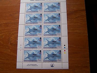 Ascension Island,2008,90Th Anniv Of Raf,90P Sheetlet,Cat£42.50,Excellent.