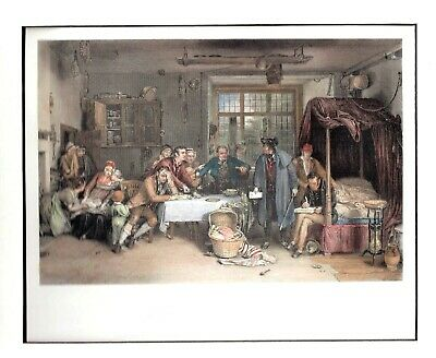 """""""Distraining for Rent"""" H/C Engraving by Greatbach after Sir David Wilkie, R.A."""
