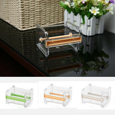 Practical Desktop Tape Dispenser Cutter Washi Tape Dispenser Roll Tape Holder