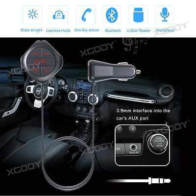 Q7S Wireless Bluetooth Car USB Charger FM Transmitter Radio Adapter MP3 Player