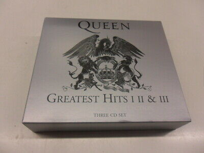 CD  Queen  ‎– Greatest Hits I II & III (The Platinum Collection)