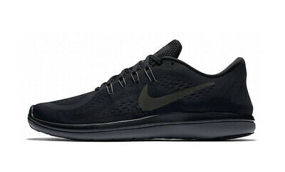51c9a29f0e361 NIKE FLEX 2017 Rn New Men s Running Shoes Black Anthracite 898457 ...