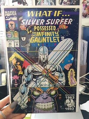 What If? Silver Surfer Possessed The Infinity Gauntlet #49 Marvel Comics