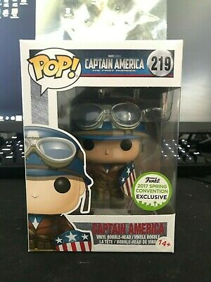 Funko POP! Marvel Captain America: The First Avenger ECCC Exclusive Figure #219