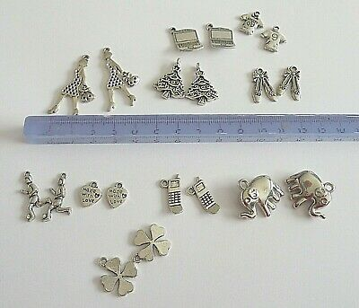 PERLES HELICOPTERE CHARMS B160//// LOT 3 BRELOQUES