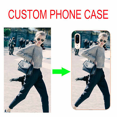 For Samsung m10 m20 A10 A30  A40 A50  A70 DIY Soft Case Cover Customized Picture