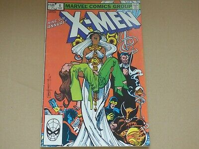 X-MEN king Size annual 6 - 1982 Bronze Age! FN+
