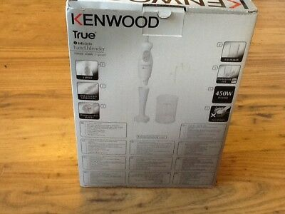 Kenwood HB682 True Hand Blender, 450 W, White New