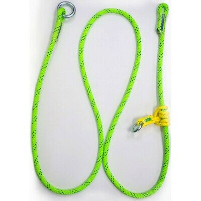 ROPE LOGIC/'S ADJUSTABLE WIRECORE LANYARD WITH MICROGRAB 10FT ARBORIST RIGGING