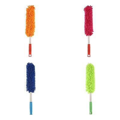 4Pcs Microfibre Duster Magic Duster 12cm Handle Home Dusting Dust Collecter
