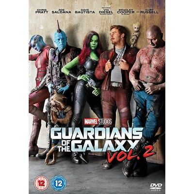 Guardians of The Galaxy: Vol. 2 (DVD 2017) Chris Pratt Zoe Saldana