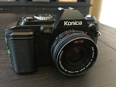 Vintage Konica FS-1 35mm Camera With Built-in Motor