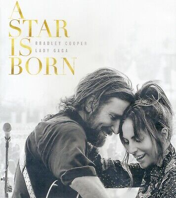 A Star Is Born 2018 R musical romantic movie, new DVD, Bradley Cooper, Lady Gaga