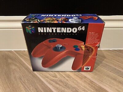 Nintendo 64 Boxed Red Controller N64