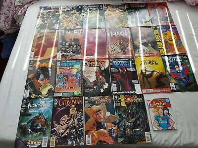 comics job lot 23 books