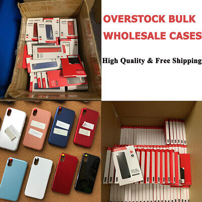 Bulk Wholesale Lot of 50 Mixed Cell Phone Cases Cover For iPhone Samsung Random