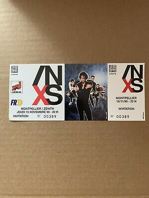 INXS Ticket Collector New  Stumps