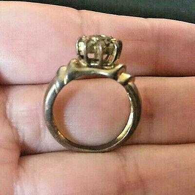 RARE Ancient Medieval Bronze Ring Museum Quality Very Stunning