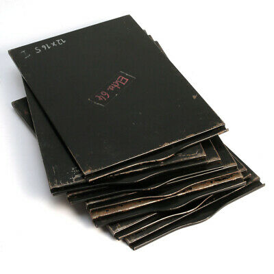 7 x Planfilm-Kassette 12x16,5 Millionfalz * 7 x film holder early Linhof