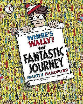 Where's Wally? The Fantastic Journey by Handford, Martin