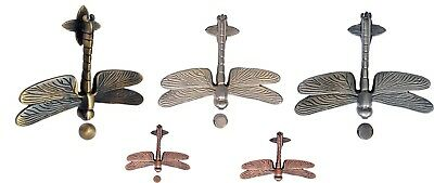 Antique Dragon Fly Brass Door Knocker Dimension 6.3 x 5.1 x 1.1 inches